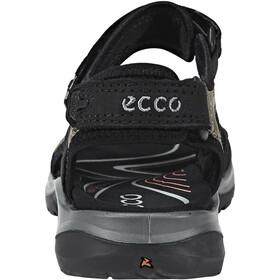 ECCO Offroad Sandaalit Naiset, black/mole/black